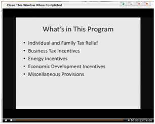 The Economic Stimulus and Your Tax Clients